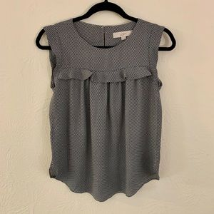 Loft XXS Sleeveless Blouse